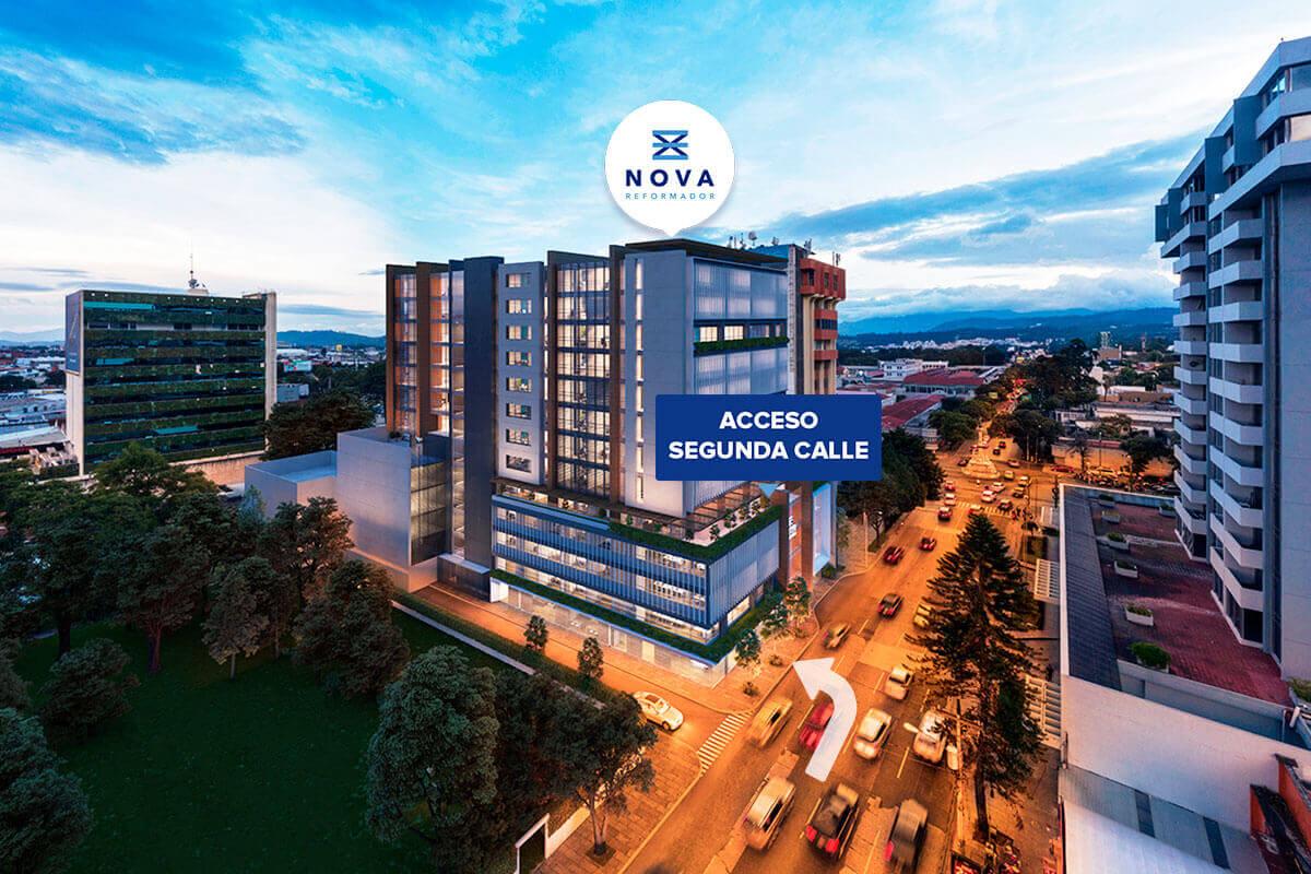 acceso segunda calle